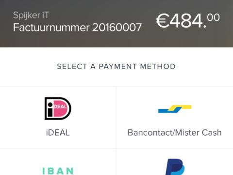 online mobiel betalen
